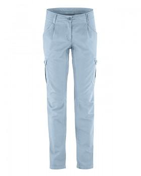 CARGO dámské kalhoty z biobavlny a konopí - světle modrá clear
