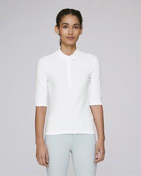 Stella DELIGHTS dámské polo tričko s krátkými rukávy - bílá