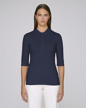 Stella DELIGHTS dámské polo tričko s krátkými rukávy - tmavě modrá french navy
