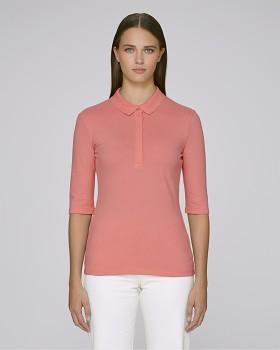 Stella DELIGHTS dámské polo tričko s krátkými rukávy - růžová flamingo
