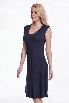 Dámská bambusová noční košilka BRIA - černá