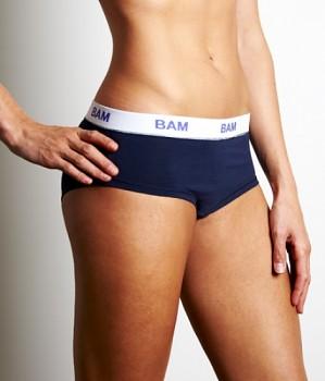 Dámské bambusové kalhotky BAM tmavě modré