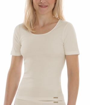 Comazo Earth Dámské tričko s krátkými rukávy ze 100% biobavlny - přírodní