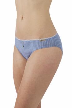 Comazo Earth Dámské kalhotky (jazz panty) z biobavlny - modrá jeans