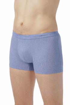 COMAZO EARTH Pánské boxerky z biobavlny - modrá jeans