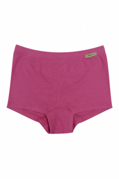 Comazo Earth dívčí kalhotky ze 100% biobavlny - růžová clematis