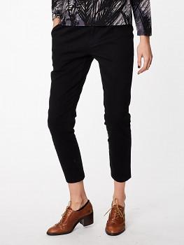 EWANIE dámské kalhoty z biobavlny - černá