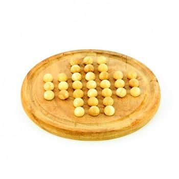 Dřevěná hra SOLITÉR
