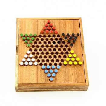 Dřevěná hra HALMA