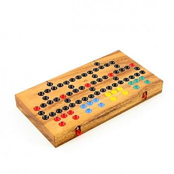 Dřevěná strategická hra BARRICADE