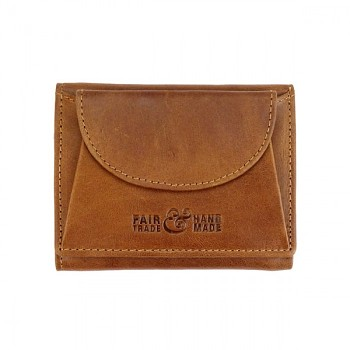 SMART vintage kožená peněženka hnědá