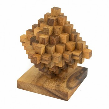 Dřevěný hlavolam HOUT