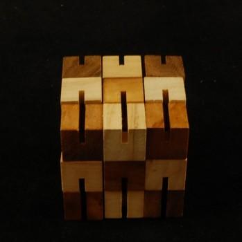 Dřevěný hlavolam BLOK