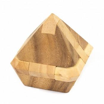 Dřevěný hlavolam CRYSTAL