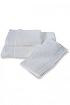 Bambusový ručník BAMBOO 50x 100 cm bílá