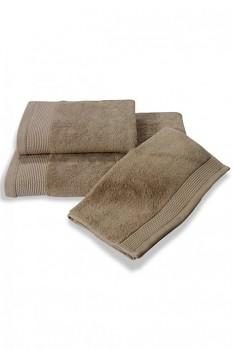 Bambusový ručník BAMBOO 50x 100 cm béžová