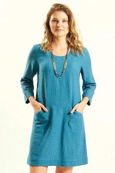 PAPILLON dámské letní mini šaty   tunika ze 100% biobavlny - světle ... 6f68ab0b7e
