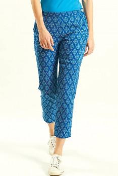 WINNOW dámské letní 3/4 kalhoty - modrá indigo