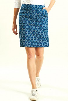 WINNOW dámská sukně z biobavlny - modrá indigo