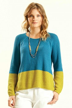 BLOCK dámský svetr ze 100% biobavlny