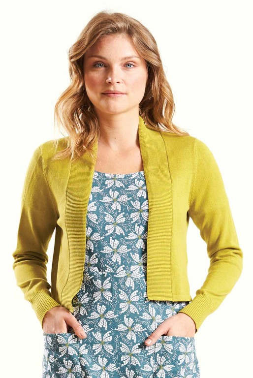 ed4f4cb610ce PAPILLON dámské letní mini šaty   tunika ze 100% biobavlny - světle ...