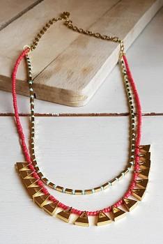 SUNDOWN náhrdelník z korálků
