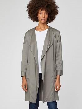 MARGO dámský kabátek z modalu a bambusu - šedozelená sage
