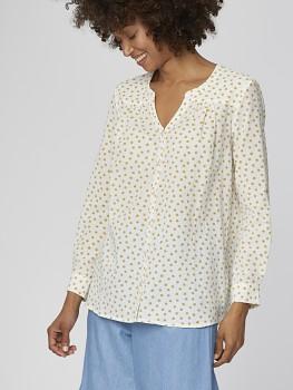 SARITA dámská košile ze 100% biobavlny - bílá