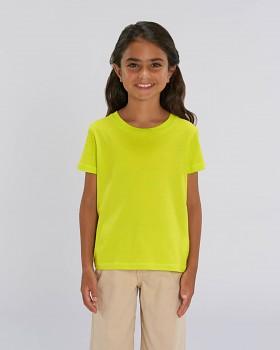 MINI CREATOR dětské tričko s krátkými rukávy ze 100% biobavlny - zelená scale