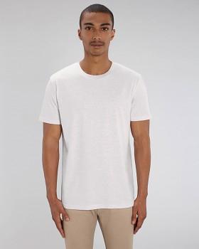 CREATOR Unisex tričko s krátkým rukávem ze 100% biobavlny - světle šedá cream heather grey
