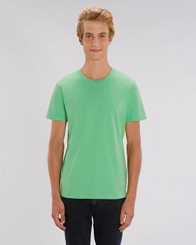 CREATOR Unisex tričko s krátkým rukávem ze 100% biobavlny - zelená chameleon