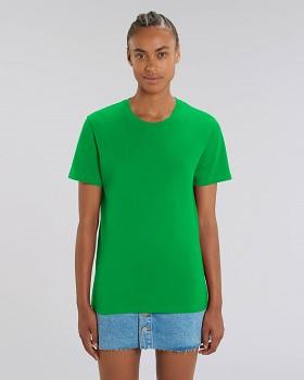 CREATOR Unisex tričko s krátkým rukávem ze 100% biobavlny - zelená fresh