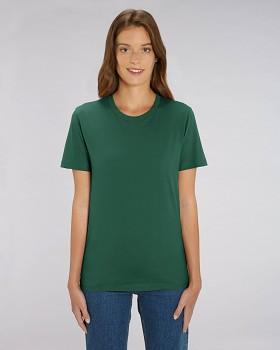CREATOR Unisex tričko s krátkým rukávem ze 100% biobavlny - zelená bottle green