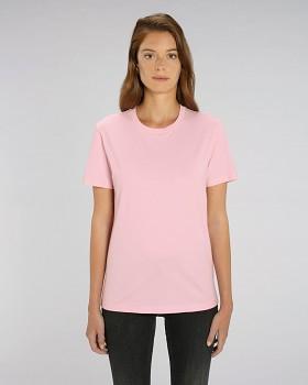 CREATOR Unisex tričko s krátkým rukávem ze 100% biobavlny - růžová cotton
