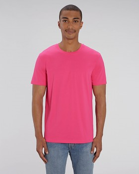 CREATOR Unisex tričko s krátkým rukávem ze 100% biobavlny - růžová punch