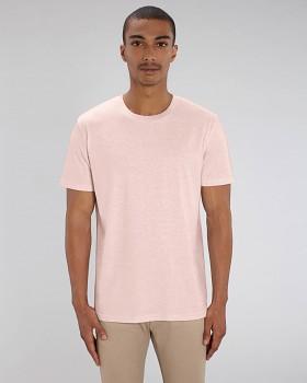 CREATOR Unisex tričko s krátkým rukávem ze 100% biobavlny - růžová cream heather pink