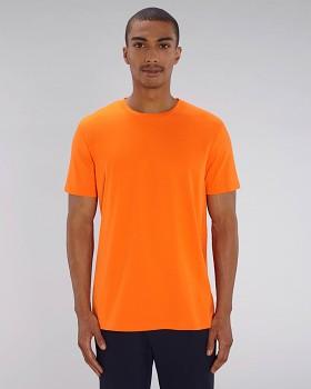 CREATOR Unisex tričko s krátkým rukávem ze 100% biobavlny - oranžová bright