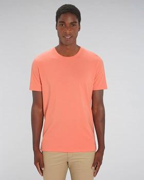 CREATOR Unisex tričko s krátkým rukávem ze 100% biobavlny - oranžová sunset