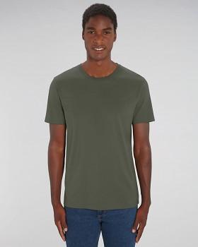 CREATOR Unisex tričko s krátkým rukávem ze 100% biobavlny - khaki