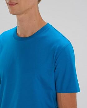 CREATOR Unisex tričko s krátkým rukávem ze 100% biobavlny - modrá royal