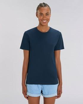CREATOR Unisex tričko s krátkým rukávem ze 100% biobavlny - tmavě modrá french navy