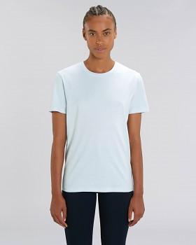 CREATOR Unisex tričko s krátkým rukávem ze 100% biobavlny - modrá baby blue