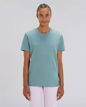 CREATOR Unisex tričko s krátkým rukávem ze 100% biobavlny - modrá citadel
