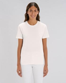 CREATOR Unisex tričko s krátkým rukávem ze 100% biobavlny - bílá vintage