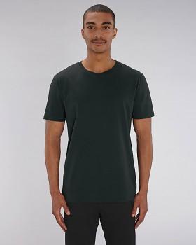 CREATOR Unisex tričko s krátkým rukávem ze 100% biobavlny - černá