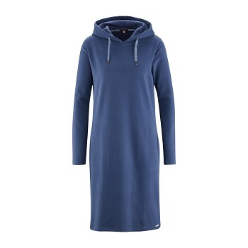 GIGI Dámské šaty ze 100% biobavlny - tmavě modrá twilight