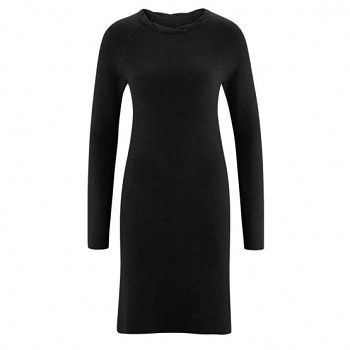 ANASTASIA Dámské froté šaty ze 100% biobavlny - tmavě modrá navy