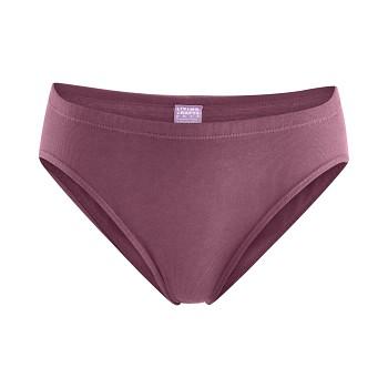 TANJA dámské kalhotky (briefs) ze 100%  biobavlny - fialová dark rose