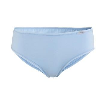 CLARISSA dámské kalhotky briefs z biobavlny - světle modrá
