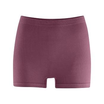 SEA dámské kalhotky (shorts) ze 100%  biobavlny - fialová dark rose